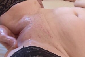 Kinky French housewife gets her pussy fisted and is fucked in the aggravation
